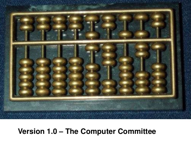 Version 1.0 – The Computer Committee