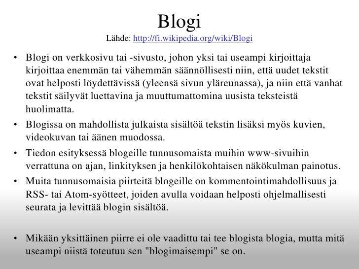 Kytkennät kulttuurin blogi