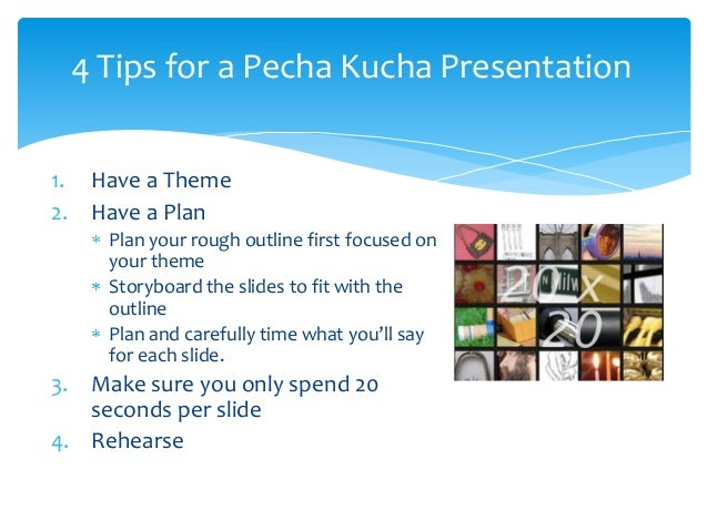 pecha kucha template powerpoint - some ideas for video projects