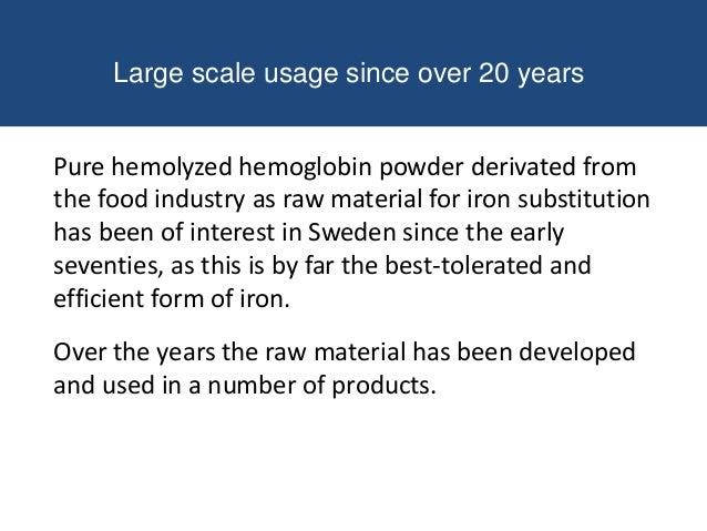 Some important facts heme iron