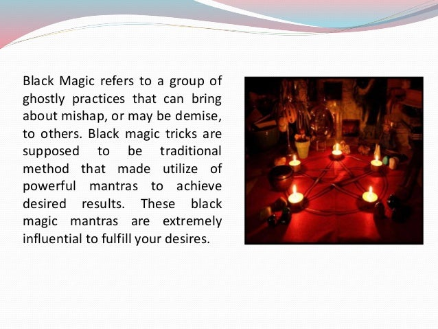 Some important Facts you must know about Black Magic