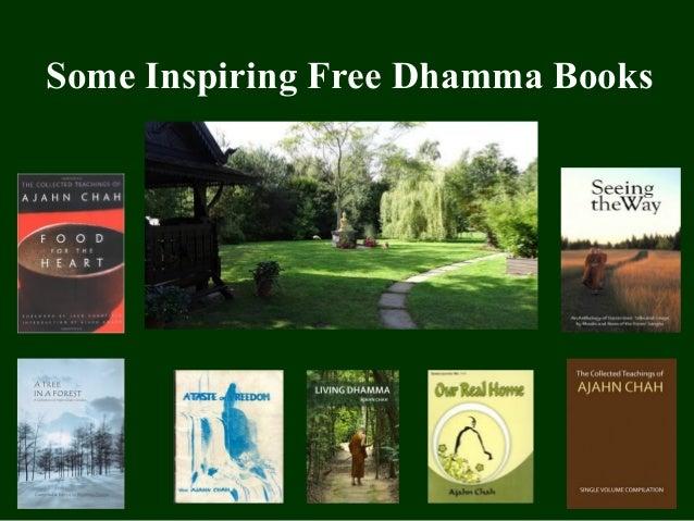 Some Inspiring Free Dhamma Books