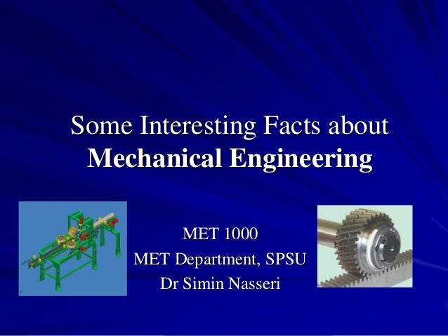 Some interesting facts about mechanical !!!