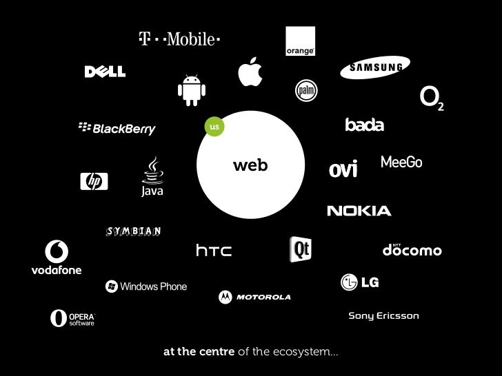 us                                them                           web              them     ...but enable them to connect w...
