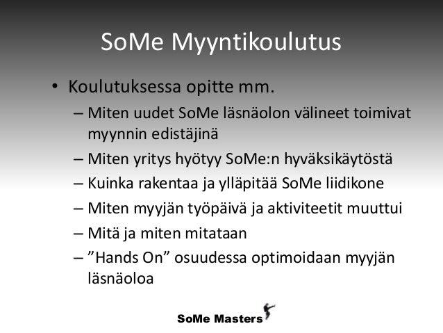 Some myyntikoulutus Slide 3