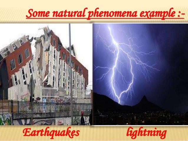Some natural phenomena Slide 3