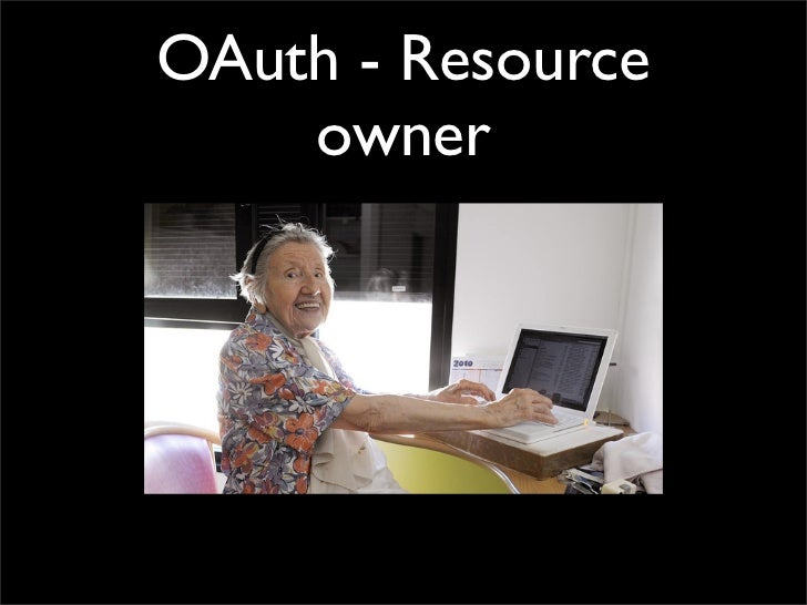 OAuth - Resource    owner