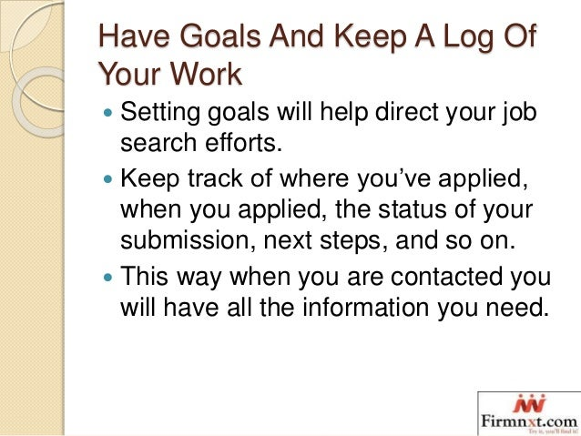 Some of Best Steps To Building A Job Search Plan