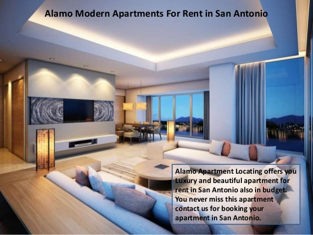 7. Alamo Modern Apartments For Rent ...