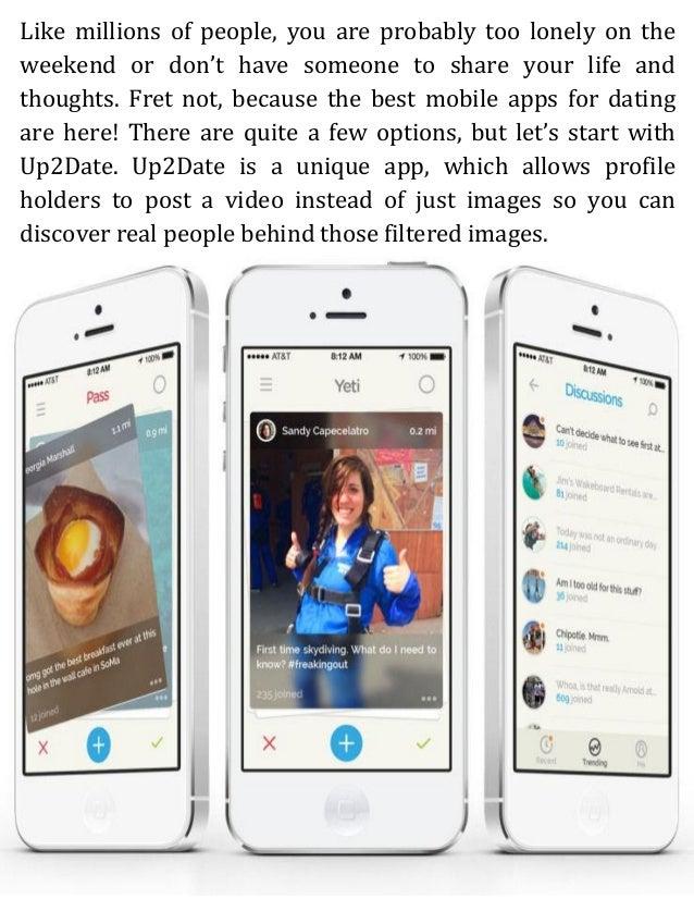 Beste apps für dating
