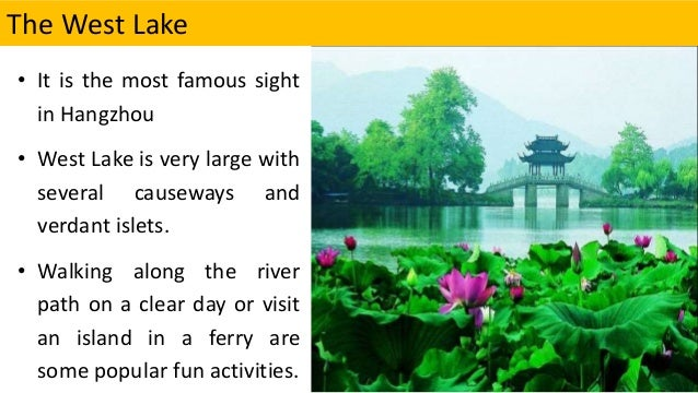 some of the popular things to do in hangzhou