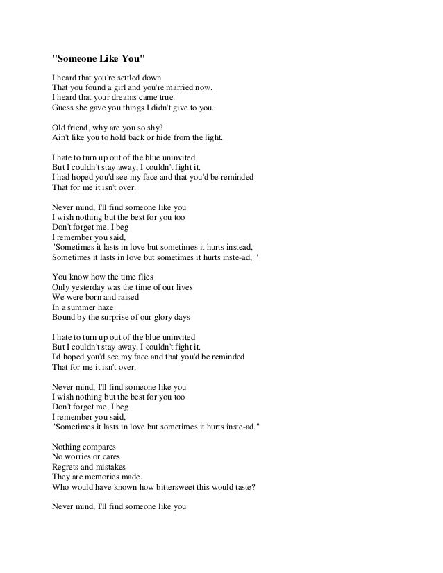 Lyric adele someone like you lyrics : someone-like-you-1-638.jpg?cb=1385245002