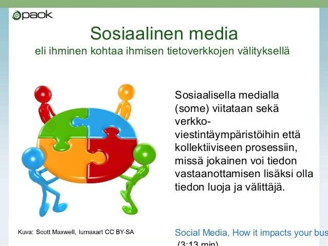 Sosiaalinen media oppilaitoksen ja sen hankkeiden viestinnässä ja markkinoinnissa Slide 3