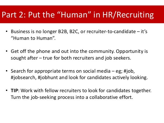 why use social media as a form of recruitment Recruiters use social media sourcing to build talent pipelines for future roles and engage passive candidates who haven't applied for current openings here's everything you need to know about how to use social recruiting to build a strategy that meets your hiring needs: intro to social media recruitment:.
