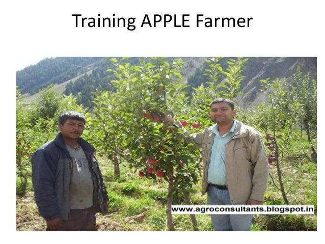 Training APPLE Farmer