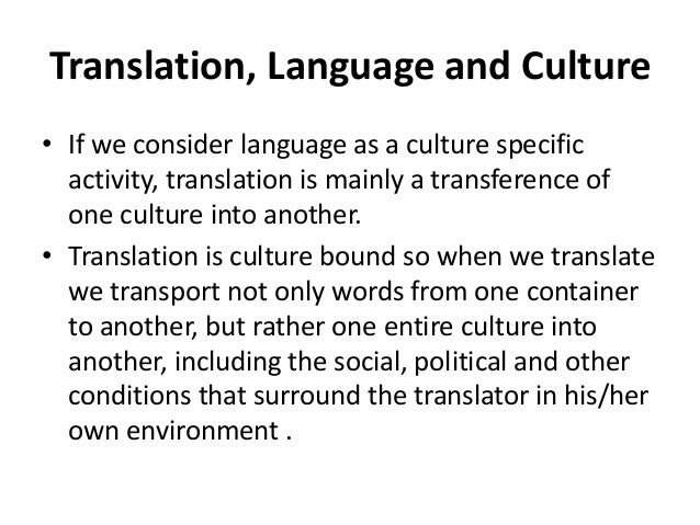 Some strategies of translating culturally  bound expressions and words Slide 3