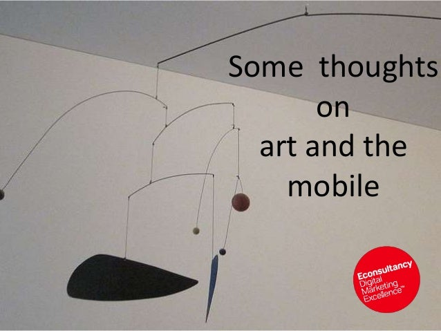 Some thoughts on art and the mobile