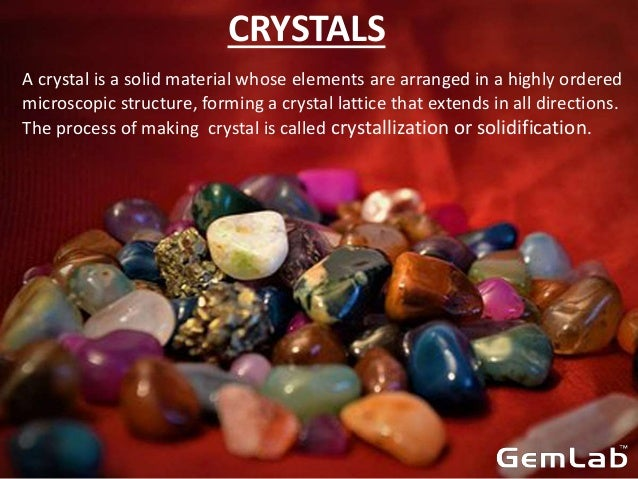 SOME TIPS TO IDENTIFY STONE AND CRYSTALS