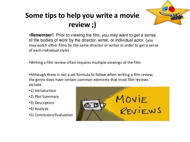 Writing a Quality Book & Movie Review