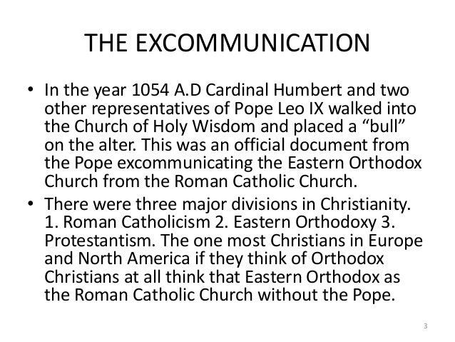 Bull of excommunication 1054