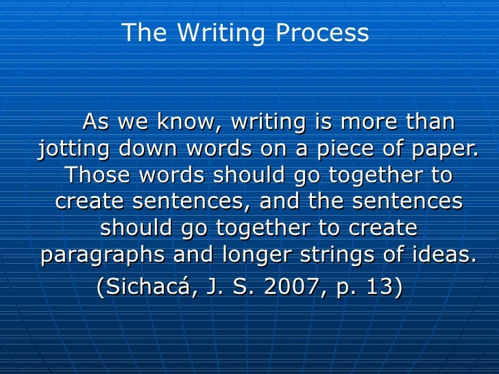 <ul><li>As we know, writing is more than jotting down words on a piece of paper. Those words should go together to create ...