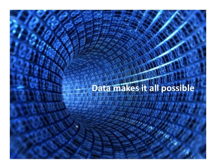 Data  makes  it  all  possible