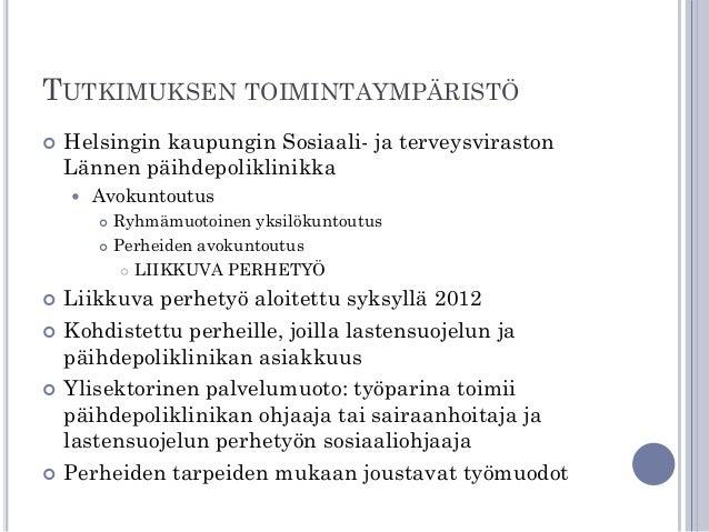 lastensuojelun perhetyö Rovaniemi