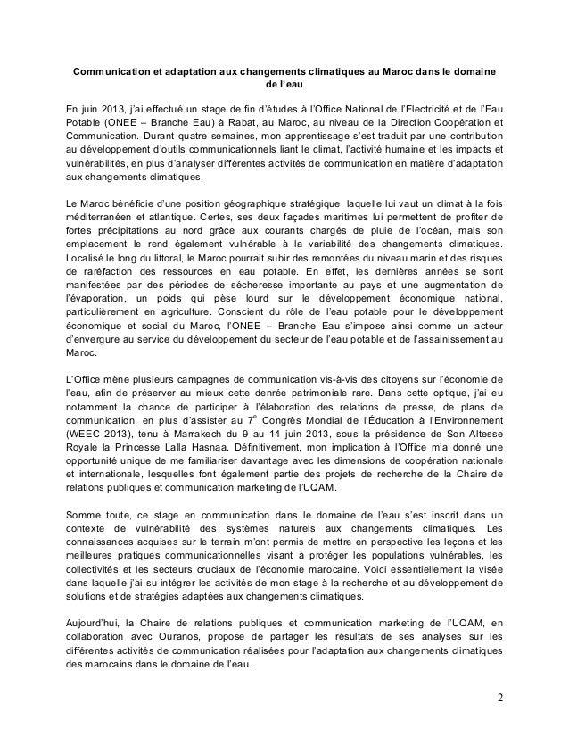Sommaire maroc fhd 16juillet2014 4 - Office national de l electricite et de l eau potable ...