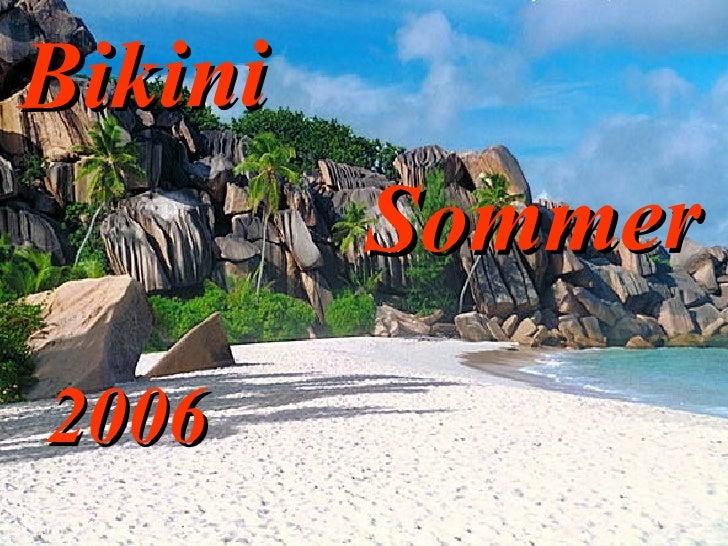 2006 Sommer Bikini
