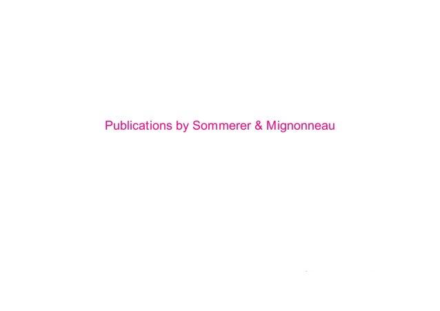 Publications by Sommerer & Mignonneau