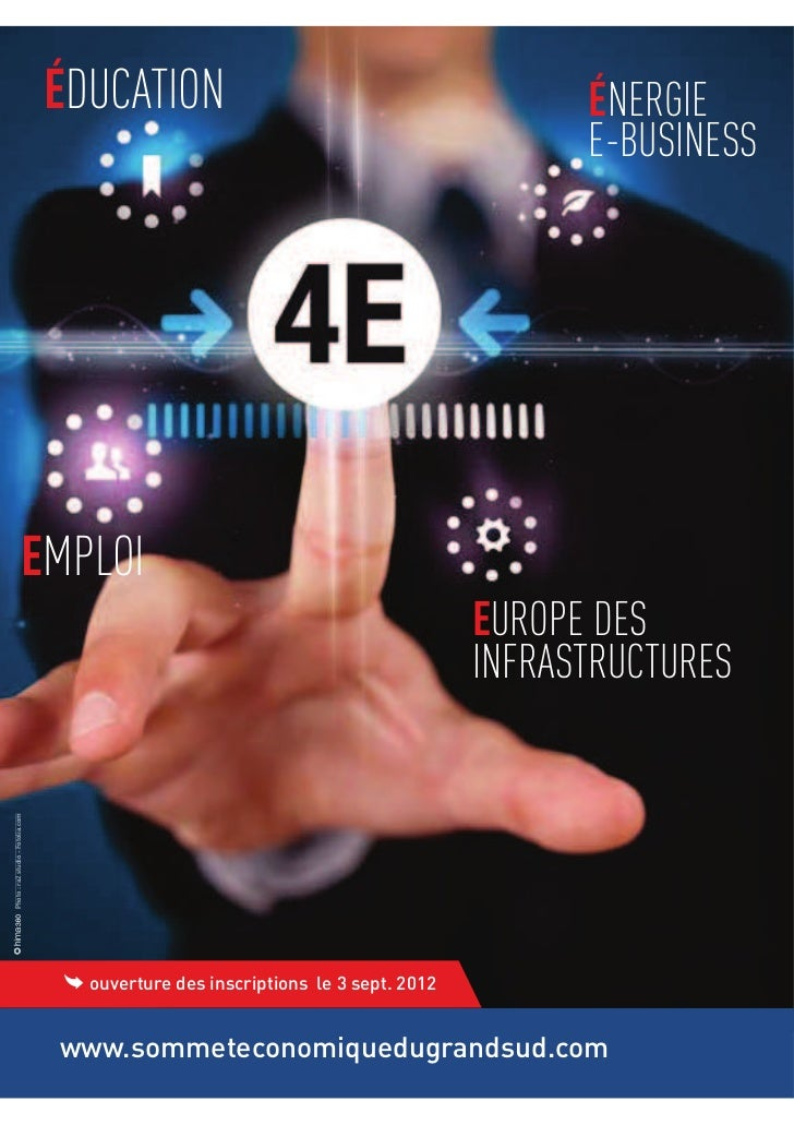 DUCATION          NERGIE                  E-BUSINESSMPLOI             UROPE DES            INFRASTRUCTURES