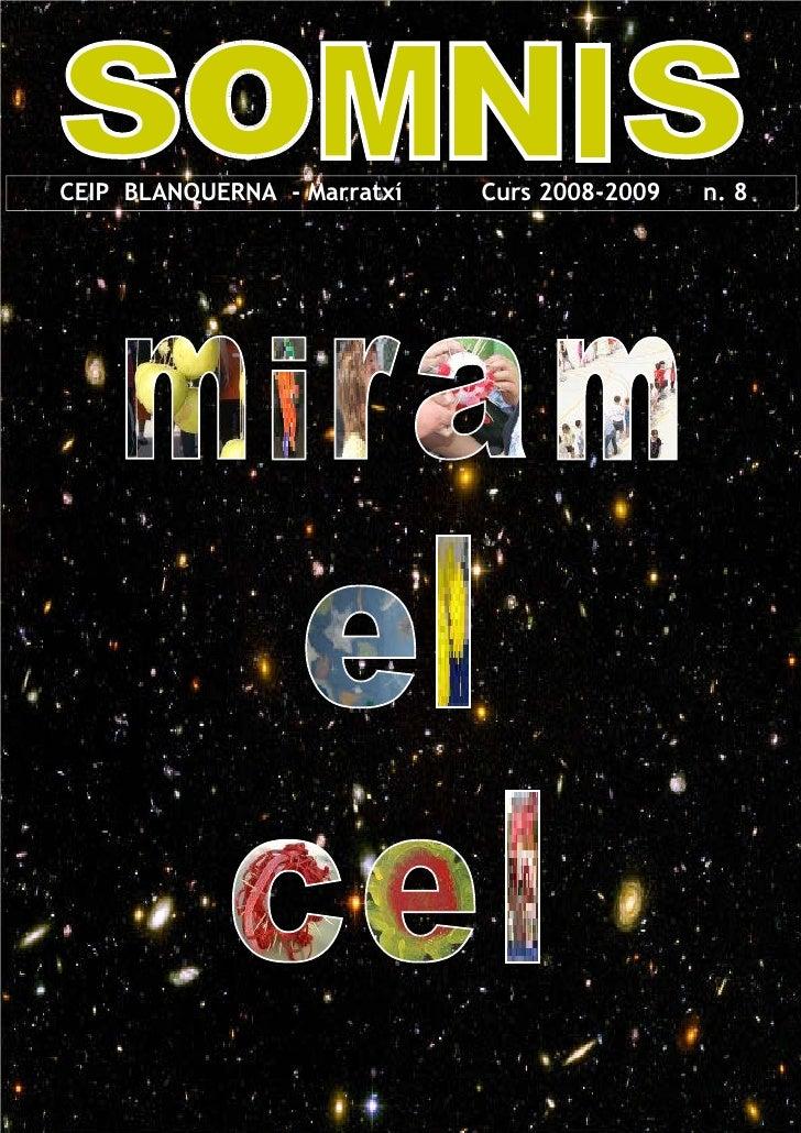 EO          CEIP BLANQUERNA - Marratxí   Curs 2008-2009   n. 8