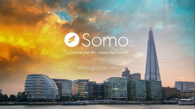 Who is Somo? September 15 2Copyright and confidential A full service connected devices solutions provider