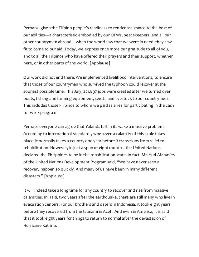 reaction paper for sona of pnoy This is an example of the reaction paper on sona 2008 of president gloria macapagal arroyo using the suggested outline in this page introduction.