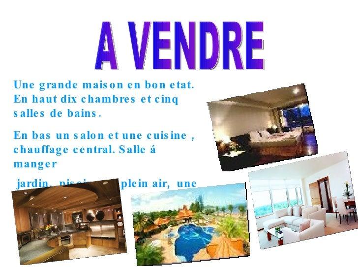 A VENDRE Une grande maison en bon etat. En haut dix chambres et cinq salles de bains. En bas un salon et une cuisine , cha...
