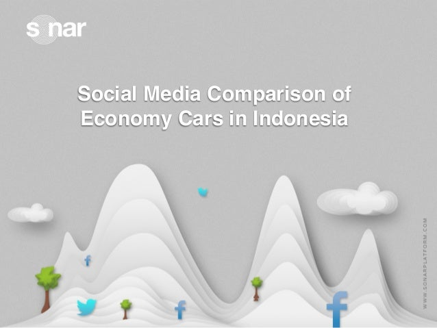 Social Media Comparison of Economy Cars in Indonesia