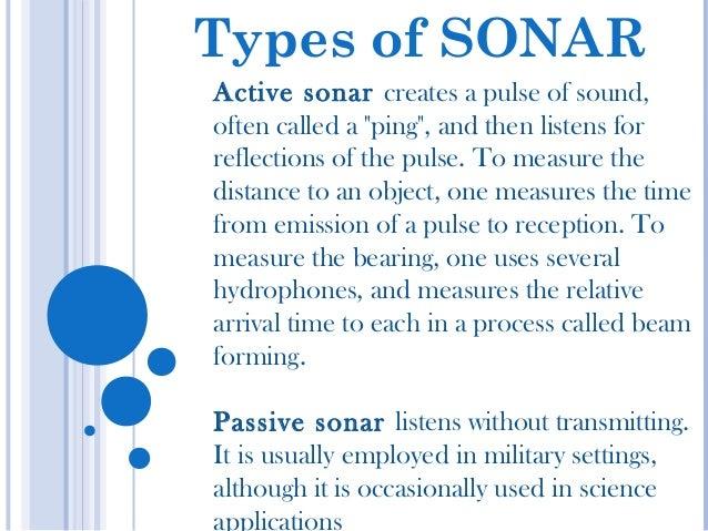 Active Sonar - YouTube