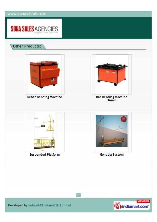 Sona Sales Agencies, New Delhi, Bar Cutting, Bar Bending & Suspended … - 웹
