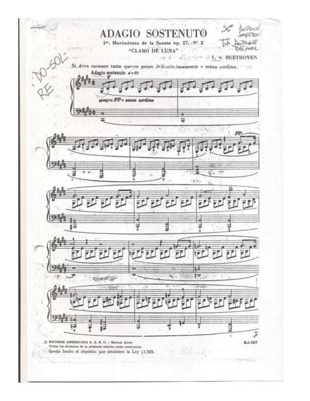 Sonata facile, adagio y muerte del ángel