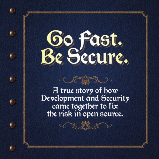 Once upon a time... There was a great battle between SPEED and SECURITY.