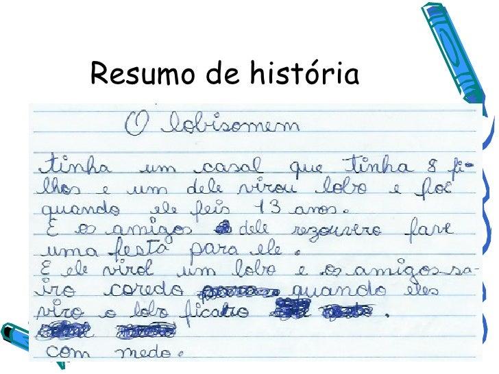 Resumo de história