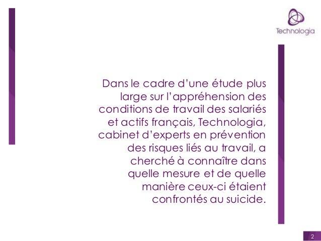 Dans le cadre d'une étude plus large sur l'appréhension des conditions de travail des salariés et actifs français, Technol...
