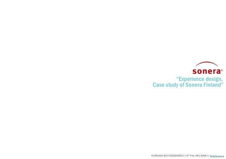 Sonera Brand Equity Analysis