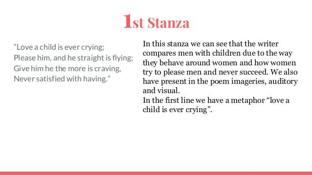 what is a stanza in music