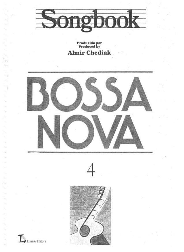 [Songbook] bossa nova 4 [almir chediak]
