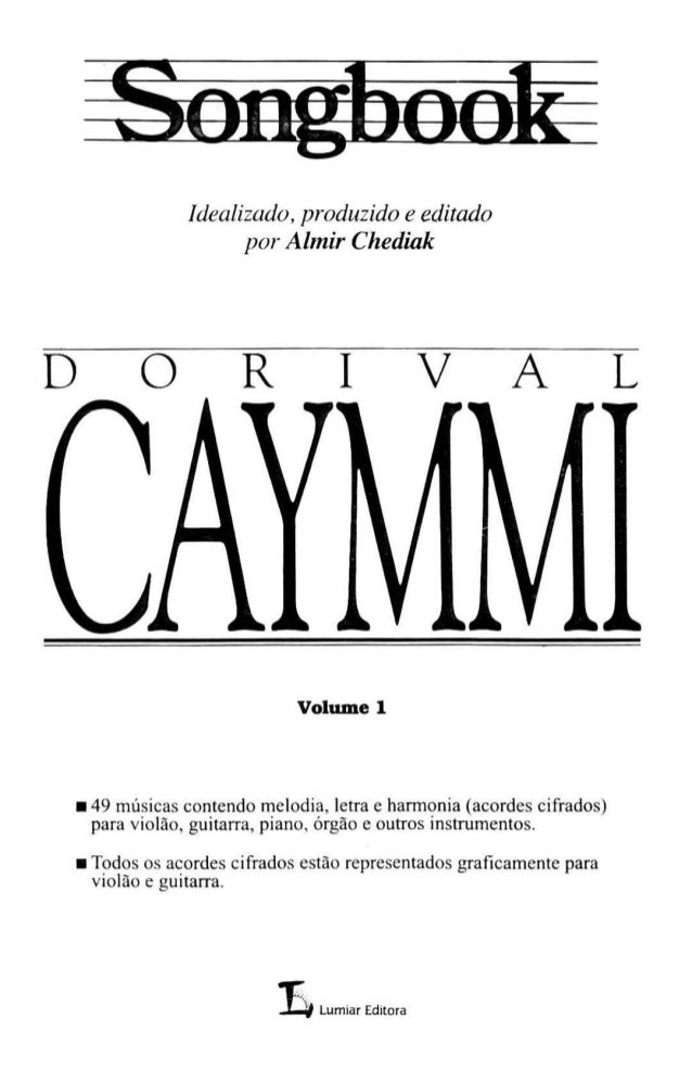 Song book dorival caymmi