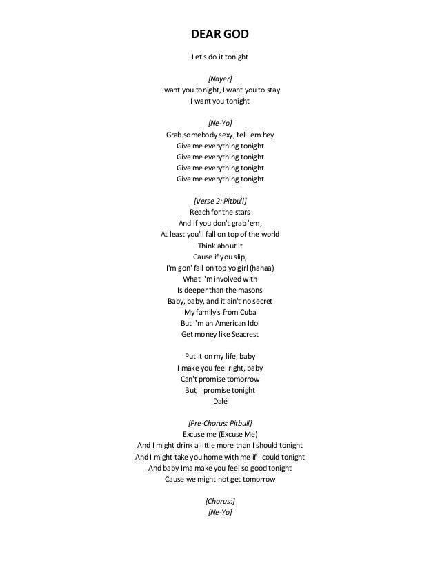 Feeling sexy and free lyrics