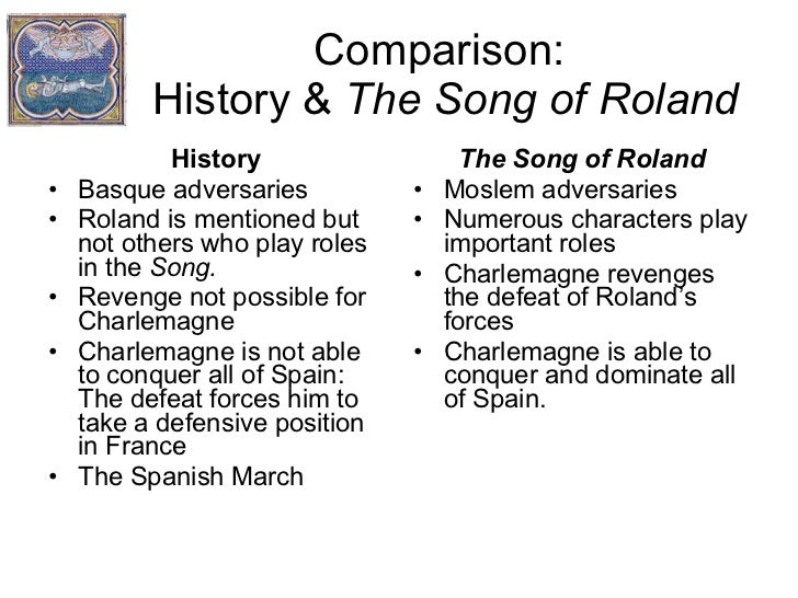 a critical analysis of the song of roland an epic poem The song of roland (old french a relatively short epic poem, having 4,000 ten-syllable verses, roland is the closest thing to a christian iliad like the greek epic, it was it's clear in the poem that the saracens, having just suffered seven years of war under charlemagne's spanish.