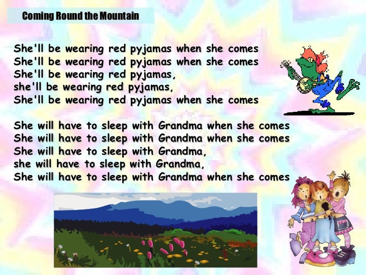 She`ll Be Coming Round the Mountain - The Countdown Kids