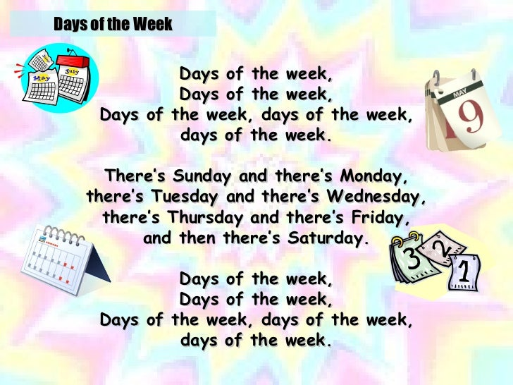Days Of The Week - Super Simple Songs